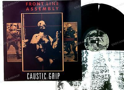 Front Line Assembly - Caustic Grip BEL LP 1990 + Innerbag //2