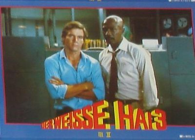 JAWS 3-D - Lobby Cards Set - Dennis Quaid, Louis Gossett Jr. - HORROR