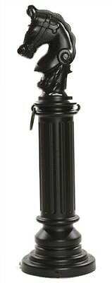 Eagle Hitching Post Sleeve-Black, Model 1715BLK