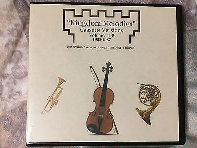 Kingdom Melodies Cassettes on CD Watchtower Jehovah's Witnesses JW Music