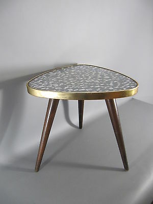 50s Blumenhocker flower stool Nierentisch Rockabilly Ära