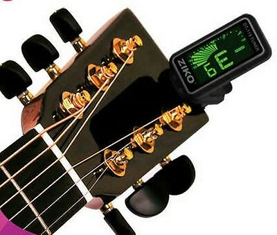 ZIKO DT-119 Economy Mini  Clip On Tuner for Guitar Bass