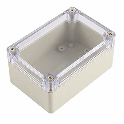 uxcell Clear Cover Plastic Electronic Project Junction Box 100 x 68 x 50mm