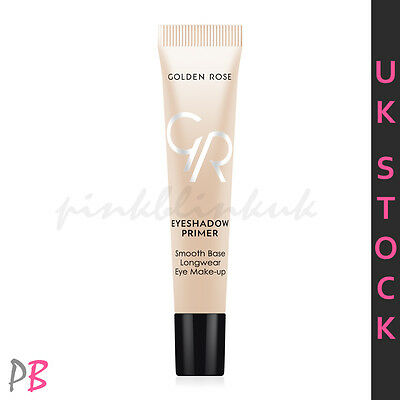 Golden Rose Eyeshadow Primer Base for Long-Wear Vibrant No-Crease Eye Makeup