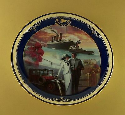 Titanic: Queen Of The Ocean TRAVELING IN STYLE Plate #13  + COA James Griffin
