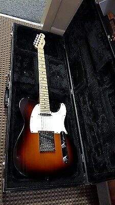 2014 Fender USA American Standard Telecaster Electric Guitar with OHSC