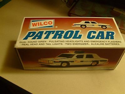 1994 Wilco Patrol Car mib new rare fits hess