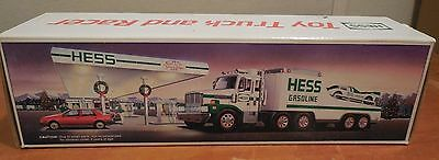 1988 HESS TRUCK AND RACER,   mib new