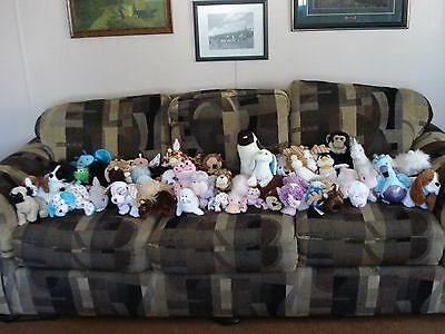USED NO CODES Lot of Webkinz items. Lil'kinz Signature Clothes Bag Zum Cards etc