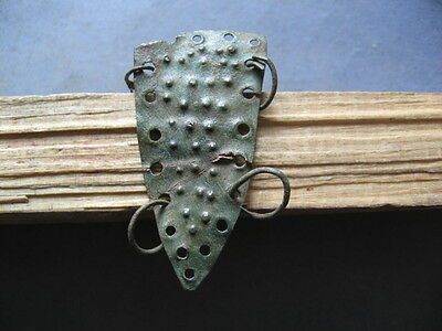 Shield Amulet Ancient Celtic Bronze Warriors Talisman 600-400 B.c.