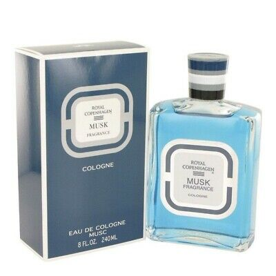 Royal Copenhagen Musk 240ml EDC (M) SP Mens 100% Genuine (New)