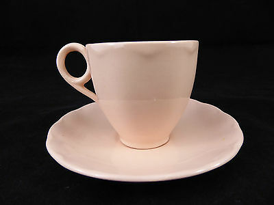 Vintage GRINDLEY Small Tea Cup Coffee Cup Pastel Pink - Made in England