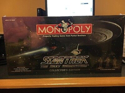 Monopoly Star Trek The Next Generation Collector's Edition - New & Sealed