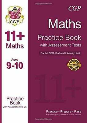11+ Maths Practice Book with Assessment Tests (Ages 9-10) for th... by CGP Books
