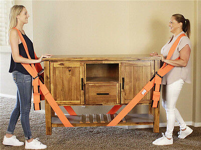 Heavy Furniture Forearm Forklift Lifting and Moving Straps Cradle Belt