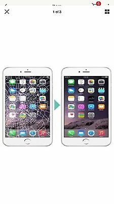 Apple iPhone 6 plus  Digitizer Cracked Broken Screen Repair Service