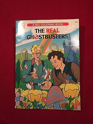 The Real Ghostbusters Big Coloring Book Movie Large Softback Book