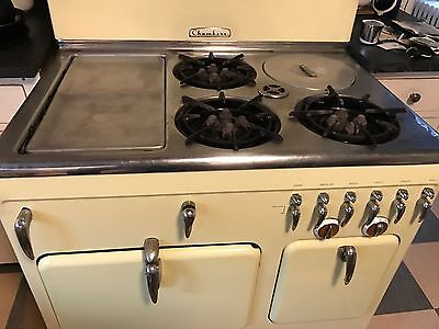Vintage STOVE by Chambers Gas Original RARE Great Condition