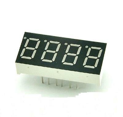 1pcs 0.36 inch 4 digit led display 7 seg segment Common cathode Red GOOD QUALITY