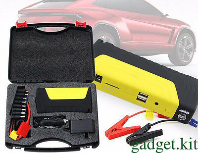 68800mAh car Jump Starter Emergency Charger Booster Power Bank Battery SOS LED&