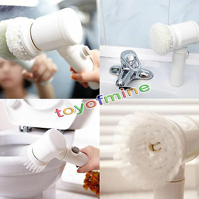 5 in 1 multi-function electric bath cleaning brush home magic cleaning expert