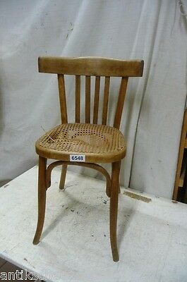 6548. Alter Bugholz Stuhl Old wooden chair