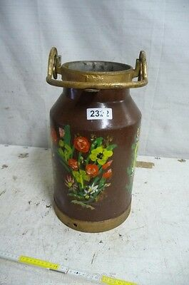 2322. Alte Milchkanne Eisen Old milk can