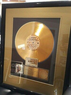 Genesis - RIAA Gold Award for Invisible Touch