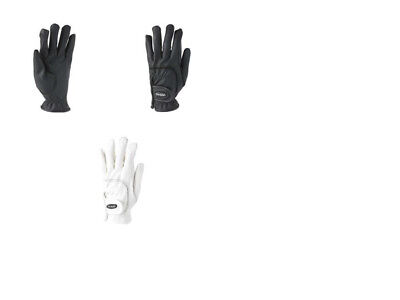 Toggi Hexham Performance Riding Gloves Black / White - Free Delivery