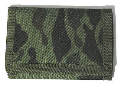 Green Camouflage 3-fold Men's Wallet