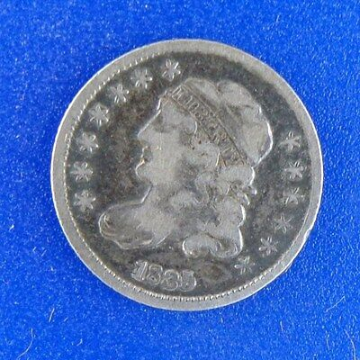 1835  Small Date Small 5C Capped Bust Half Dime