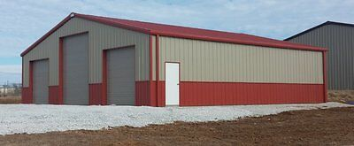 50 x 80 steel garage kit Simpson Steel Building Company 5080/16