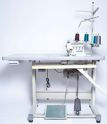 Juki 4-Thread Overlock Sewing Machine w/Table & Servo Motor (MO-6714S) COMPELETE