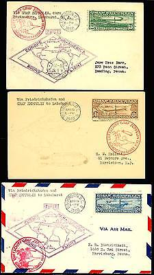 #c13-C15 Set Of First Day Covers Xf-Superb Cv $3,500