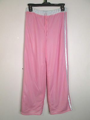 Christie Brooks DANCE Athletic Pants Reversible NEW Pink White Girls S M L XL