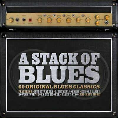 Various Artists - A Stack Of Blues - Various Artists CD ZOVG The Cheap Fast Free