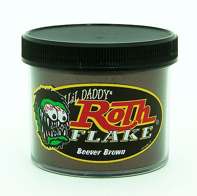 Lil' Daddy Roth Metal Flake Beever Brown