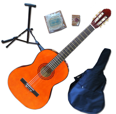 Axiom Children's Guitar Pack - 3/4 Size Starter Pack Natural - Childrens Guitar