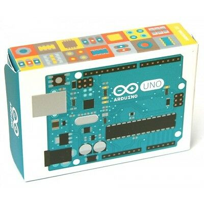 Sealed in Box Arduino UNO R3 Mega328P-PU A000066 w/USB - Made in Italy