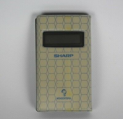 Sharp WN-103 Vintage Calculator, with Wondertopia Game | FAST POST | 1410