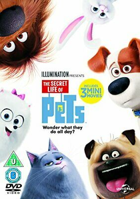 The Secret Life Of Pets (DVD + Digital Download) [2015] - DVD  GIVG The Cheap