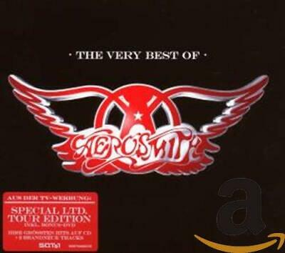 Aerosmith - Very Best Of, The [Limited Tour Edition] [Bon... - Aerosmith CD S6VG
