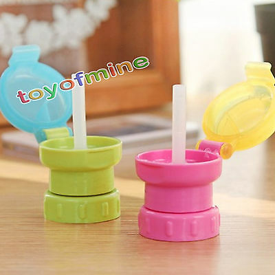Kids Safe Drinking Straw Cover Beverage Bottle Cap Tube Healthy Household Goods