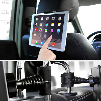 360° Universal Coche Asiento Soporte Reposacabezas Para Tablet Pc Ipad Mini Air