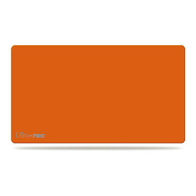 Ultra Pro Solid Orange Play Mat Artist Series