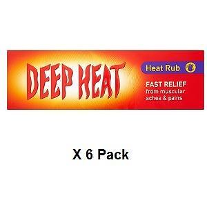 Deep Heat Rub 100g x 6 Pack