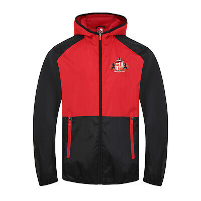 Sunderland AFC Official Football Gift Boys Shower Jacket Windbreaker