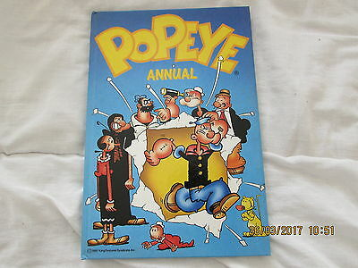 The   Popeye  Annual   1987    Very   Good For  Age