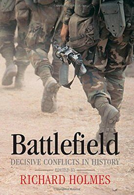 Battlefield: Decisive Conflicts in History Hardback Book The Cheap Fast Free