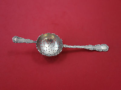 """Louis XV By Whiting Sterling Silver Tea Strainer 7"""""""